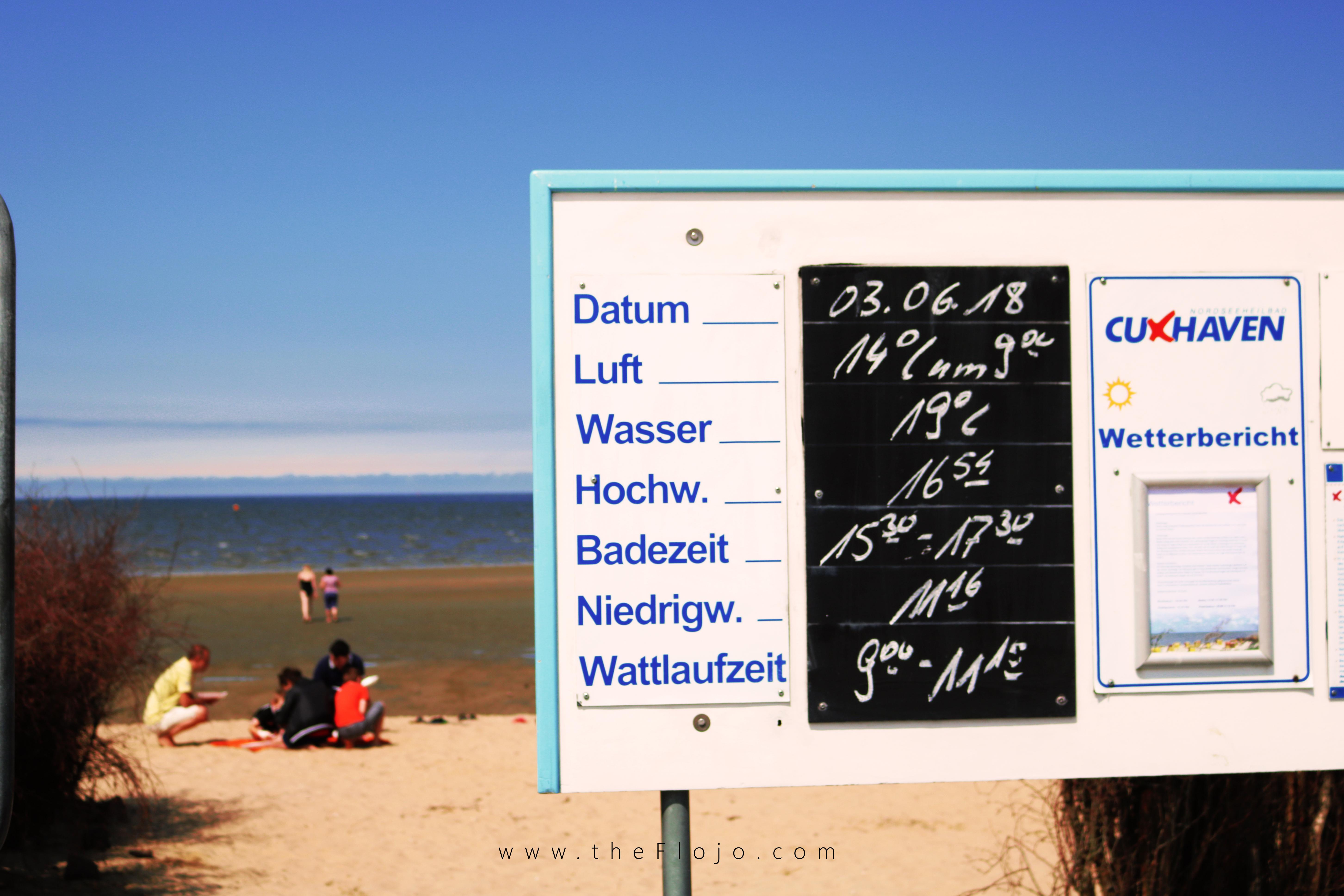 Tagesausflug nach Cuxhaven